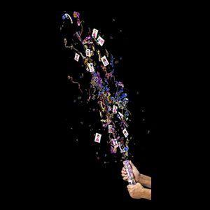 Lança Confetes e Adesivos Princesas  KIDS - MUNDO BIZARRO