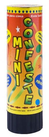 Lança Confetes Pequeno com Serpentinas Coloridas Para Reveillon - Catelândia