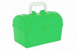 Mini Baú para Lembrancinha ou Sacolinha Surpresa Verde Matrix 05 Un - Catelândia
