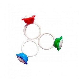 Mini Brinquedo - Anel Flor - C/ 25 Un - Catelândia