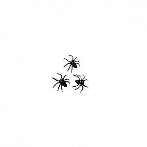Mini Brinquedo - Aranhas - 25 Un - Catelândia