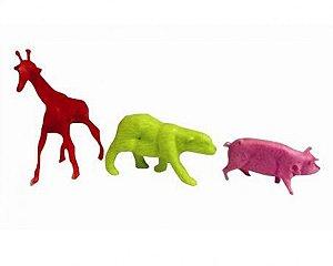 Mini Brinquedo Animais 15 Un - Catelândia