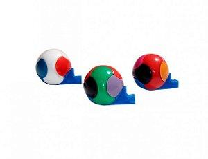 Mini Brinquedo Apito Bola 10 Un - Catelândia