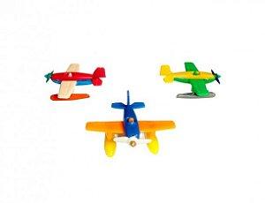 Mini Brinquedo Avião para Sacolinha Surpresa  20 Un - Catelândia