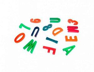 Mini Brinquedo Letras e Numeros para Sacolinha Surpresa 50 Un - Catelândia