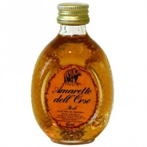 Mini Licor Amareto Dell Orso Stock 40 ml - Catelândia