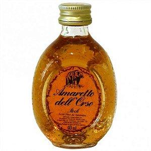 Mini Licor Amareto Dell Orso Stock 40 ml - Catelândia