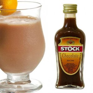 Mini Licor Sabor Chocolate Stock 50 ml - Catelândia