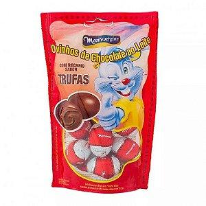 Mini Ovinhos De Chocolate - Recheio de Trufas - 30 Unidades