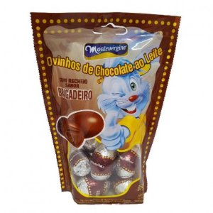 Mini Ovinhos de Chocolate - Recheio Sabor Brigadeiro - 32 Unidades
