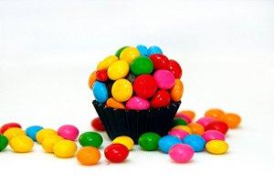 Mini Pastilhas de Chocolate Confeitadas Disqueti 500g - Catelândia