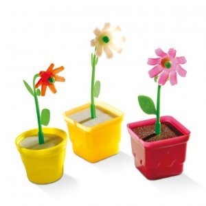 Mini Vasinho De Flor Plástica Para Artesanato - 25 Unidades