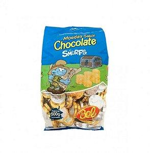 Moedas de Chocolate Aproximadamente 1 Kg - Embalagem Econômica