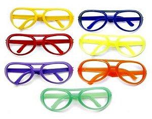 Óculos Diversos para Carnaval Embalagem Econômica 50 Unidades