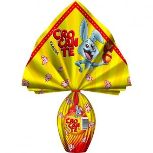 Ovo De Páscoa Chocolate Ao Leite Com Crocante - 150g