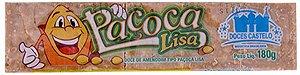 Paçoca Lisa Doce de Amendoim em Barra com 10 Doces 180g - Doces Castelo