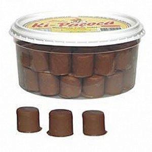 Paçoca Rolha Coberta com Chocolate ao Leite 45 Un - Catelândia