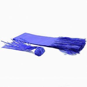 Papel para Bala de Coco Seda Franjinha 48 Un Azul Escuro - Catelândia