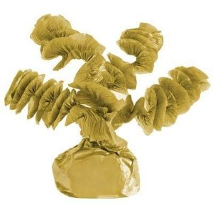 Papel Rococó Caracol para Bala de Coco Metalizado Dourado 40 Un