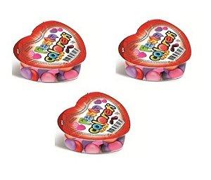 Pastilhas de Chocolate na Embalagem Coração 18 Un de 18g cada - Catelândia