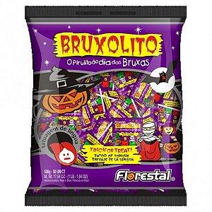 Pirulito Bruxolito Halloween - Faz Tatuagem Temporária na Língua - 50 Un