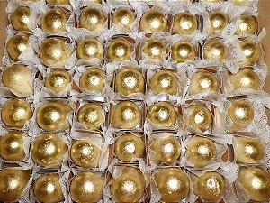 Pó Brilhante Dorado / Ouro Comestível para Decoração de Alimentos 4g - Mix