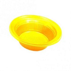 Pratos Descartáveis (Cumbuca) para Servir Patê - Amarelo 10 Un - Catelândia