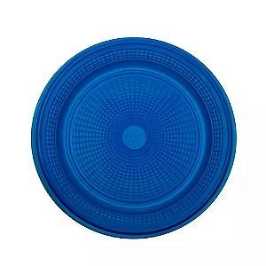 Pratos Descartáveis Para Bolo Colorido Azul Escuro 15cm 10 Un - Catelândia