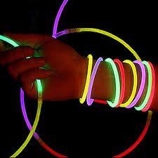 Pulseira de Neon Cores Vibrantes Tubo com 100 Unidades - Catelândia