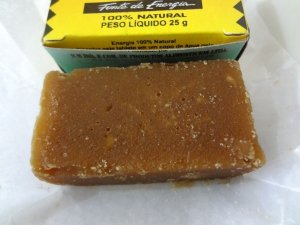 Mini Rapadura Cana de Açúcar 28 Tabletes de 25g Cada - OFerta Catelândia