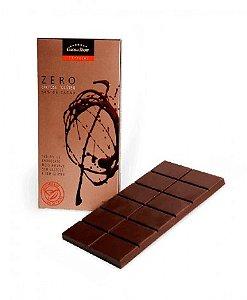 Tablete Chocolate Meio Amargo Sem Lactose e Sem Glúten 100 Gramas - Catelândia