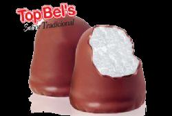 Top Bel's Marshmallow com Cobertura de Chocolate 50 Un - Catelândia