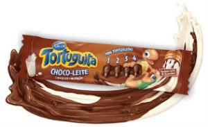 Tortuguita Choco Leite Chocolate + Nutrição Display com 12 Tabletes - Catelândia