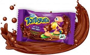 Tortuguita Chocolate ao Leite Aerado 24 Unidades - Catelândia
