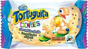 Tortuguita Cores Chocolate Branco com Confeitos 24 Unidades - Catelândia