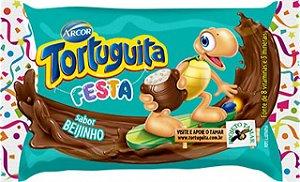 Tortuguita Festa Chocolate ao Leite com Recheio Beijinho 24 Unidades - Catelândia
