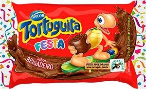 Tortuguita Festa Chocolate ao Leite com Recheio Brigadeiro 24 Unidades - Catelândia