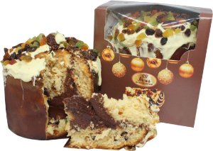 Panetone Trufado Chocolate Belga Meio Amargo 70% Cacau 650g