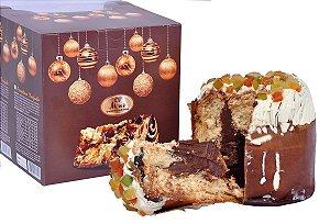 Panetone Trufado Chocolate ao Leite Belga Callebaut 650g
