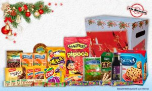 Cesta Natalina Presente de Natal em Oferta