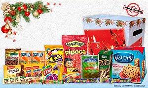 Cesta Kit Natalino para Presente de Natal em Oferta