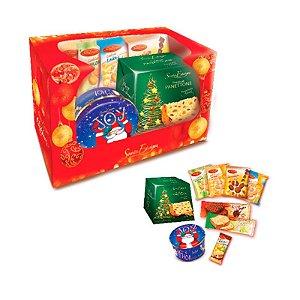 Cesta de Natal Gourmet para Presente