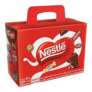 Maleta Cesta Nestlé Quase 1 Kg De Chocolate Presente Páscoa