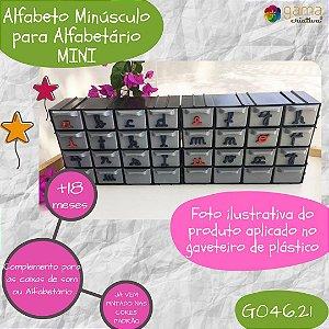 Alfabeto Montessori para Alfabetário (caixa de som)