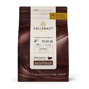 Chocolate gotas meio amargo 70,5% Callebaut - 2,5kg - N 70-30-38