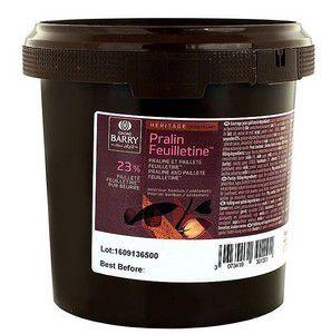 Pasta avelã Pralin Feuilletine Callebaut - 1kg