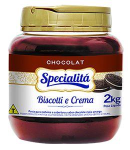 Pasta saborizante Biscotti e Crema Specialitá- 2kg