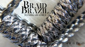 BRAID BRAZIL - 4 Way Braid