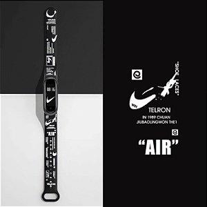 Pulseira Estampada Nike - Mi Band 5 e 6
