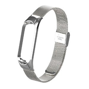Metal Prata PREMIUN  - Mi Band 3/4